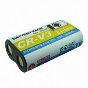 Quality Digital Camera Battery for Sanyo CR-V3, 3.7V Voltage and 1,600mAh Capacity wholesale
