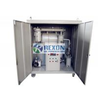 China 50HZ Automatic Transformer Oil Filtration Machine , Insulation Oil Purifier on sale