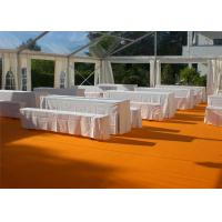 Quality Restaurant Tent With Large Canopies, Clear Outdoor Event Tents With Transparent PVC Roof wholesale