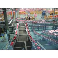 Quality Vegetable / Fruit Beverage Production Line Full / Semi Auto Operation 12 Months Warranty wholesale