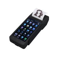 China FP605 Wireless ticket Finger printer scanner linux POS handheld terminal biometric pos PDA device with sim card printer on sale