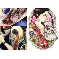 Buy cheap Multi Coloured Temporary Body Tattoo Stickers , Personalised Fake Tattoos Stikers product