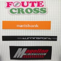 China factory fashion straight cut labels customized garment damask woven labels on sale