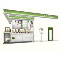 Quality Makeup Display Cabinet / Cosmetic Display Shelves Full - Assembly Structure wholesale