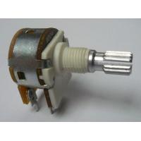 China 16mm Series Flat Shaft Type Rotary Potentiometer with taper A, B or C for Dimming Light on sale