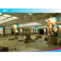 China Full Color Flexible LED Screen Display / Flexible LED Video Panels 1500 Nits /Sqm on sale