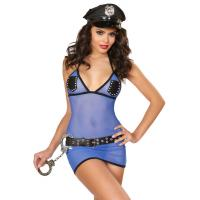 Quality Sheer Arrest Police Officer Costume Adult Costumes for Carnival Christmas Halloween wholesale
