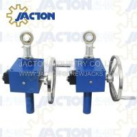 Quality manual screw jack, hand crank lift systems using reducer, industrial hand crank jack screw wholesale