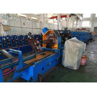 Quality 2.5mm Thick Heavy Duty Rack Roll Forming Machine With Gear Box Transmission wholesale