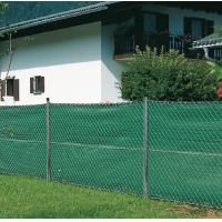 Hdpe Anti UV Garden Privacy Fence Netting With Raschel Knitted