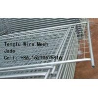 Cheap Hot Dipped Galvanized Welded Wire Mesh Temporary Fence 50X50, 60X60, 75X75, 50X150, 60X150, 75X150 for sale