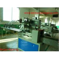 Quality flow pack machine in muti-function packaging machine with three feeder wholesale