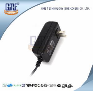 Quality CCTV Cameras 12 Volt AC DC Adapter 47Hz - 63Hz US Wall Plug Adapters wholesale