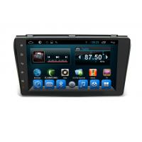 Quality Android 6.0 Double Din Navigation Bluetooth , Multimedia Car Navigation System Mazda 3 2004-2009 wholesale