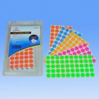 Buy cheap 78gsm Self-adhesive Stickers, Assorted Color Printing Face Paper from wholesalers