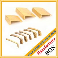 China C38500 CuZn39Pb3  CuZn39Pb2 CW612N C37700 Copper alloy pen clips brass extrusion profiles section on sale