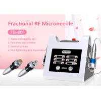 Buy cheap Home Use Facial Rejuvenation Fractional RF Microneedling Wrinkle Remover Machine 2MHZ from wholesalers