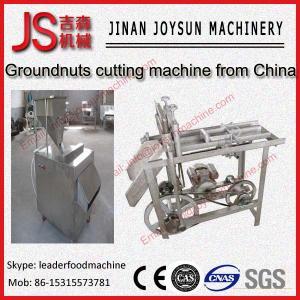 Quality Peanut Cutting Machine Badam Strips Cutting Machine / Slivering Machine wholesale