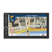 Quality 7 ″ HD Capacitive Screen Car GPS Navigation System With Bluetooth Phonebook Search wholesale