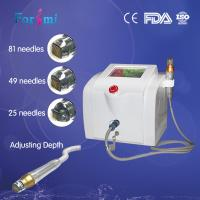 China best quality and treatment effects fractional microneedle derma rf machine for skin tightening wrinkle removal on sale