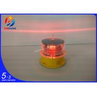 Cheap AH-LS/B Low-intensity Solar-Powered Aviation Obstruction Light for sale