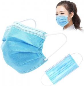 Quality Disposable Gauze 10PCS FDA Earloop 3 Ply Face Mask wholesale