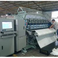Quality Multi Needle High Speed Quilting Machine / Quilting Equipment With Automatic Panel Cutting Machine wholesale