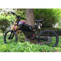 China Long Range Full Suspension Motorized Mountain Bike With Carbon Steel Frame on sale