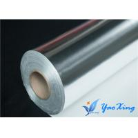 China Industrial Heat Insulation Aluminized Fiberglass Fabric Single Side on sale