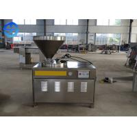 Cheap Reliable Operation Automatic Sausage Filler , Hydraulic Sausage Stuffing Machine for sale