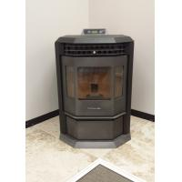 Quality Simple Maintenance Indoor Pellet Stove Corner With Bay Front Window Design wholesale