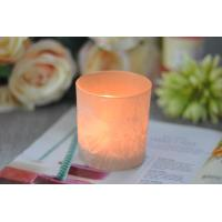 Quality Gifts Tealight Glass Candle Holder Orange Romantic Heat Resisting wholesale