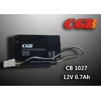 Quality CB1207 Rechargeable Sealed Lead Acid Battery 12 V 0.7Ah , AGM Electronic Battery wholesale