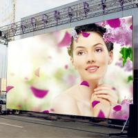 China 2000CD/Sqm Full Color Led Signs Outdoor Iron Material Constant Current Driver IC on sale