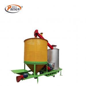 China 10000kg/H 6.5m3 continuous Corn Mobile Grain Dryer Machine on sale