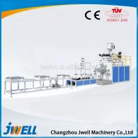 China Jwell UPVC/PVC-C Solid Wall Pipe Plastic Extruder for Sale on sale
