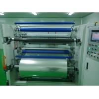 China Mask Fabric Roll Slitting Machine 380V 50HZ High Efficiency Long Service Time on sale