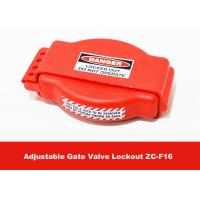 Safety Production Tough LOTO Equipment , Adjustable Gate Valve Lock Out