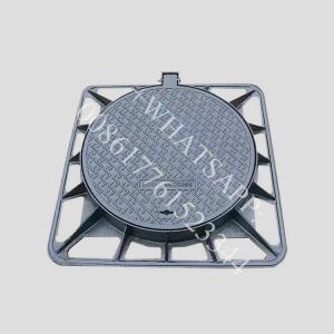 Quality EN124 D400 850x850 ductile cast iron pipe fittings manhole cover wholesale