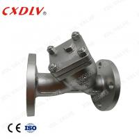 Buy cheap DN50 JIS10K SCS13A Y-Strainer Valve 40 Mesh With Flange Connection from wholesalers