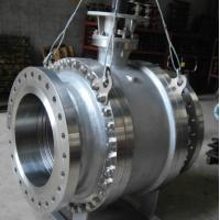 Quality Pneumatic Worm Gear Ball Valve , Metal Seated Ball Valves For High Temperature wholesale