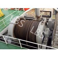 Quality 10 Ton 20 Ton 50T Ship Traction Marine Winch With Spooling Device wholesale