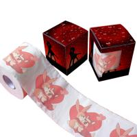 Quality printed toilet tissue paper  2ply  250 sheets 100% virgin pulp custom printed toilet paper wholesale