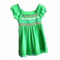 Quality Girl's Cotton/Poly Short Sleeve T-shirt wholesale