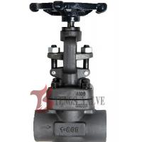 Quality Metal Seat Forged Steel Globe Valve Handwheel Operated J11H CL800 SW / NPT wholesale