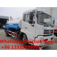 Quality customized dongfeng 12cbm water truck with cannon for sale, HOT SALE! good price 12,000Liters water sprinkling vehicle wholesale