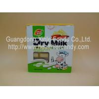 Cheap Holiday Rectangle Malted Milk Tablets , Colored Natural Energy Candies for sale