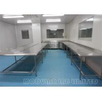Quality Floor Mounted Modular Laboratory Furniture / Lab Bench Table wholesale