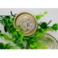 China Plastic Bottle / Tuna Tin Cans Easy Open Lid , Food Storage Tinplate Cover on sale