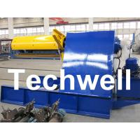 Quality Custom 5 - 20 Ton Curving Machine Hydraulic Decoiler With Pneumatic Damp Pressing Arm wholesale